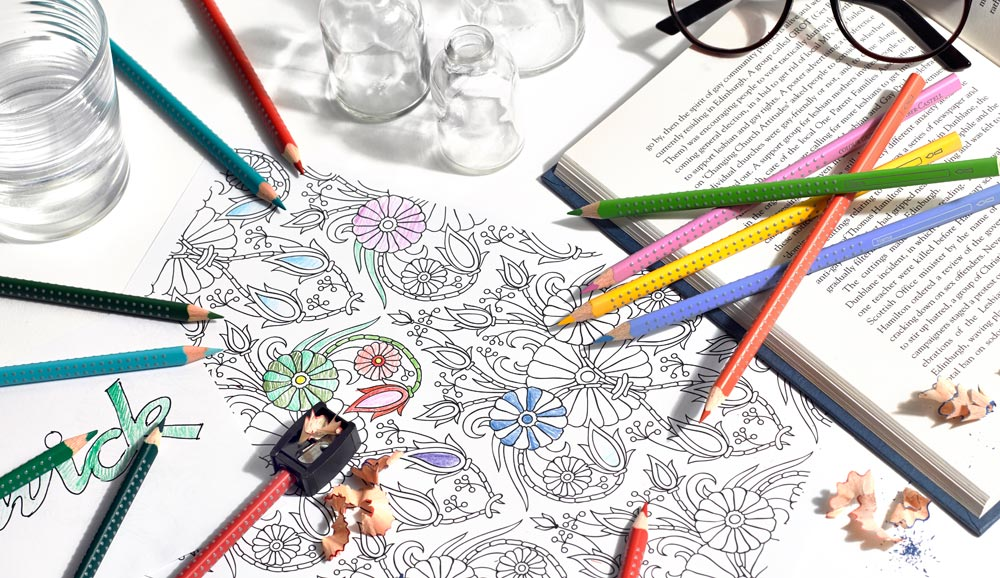 The Art Of Colouring Relax Or Play