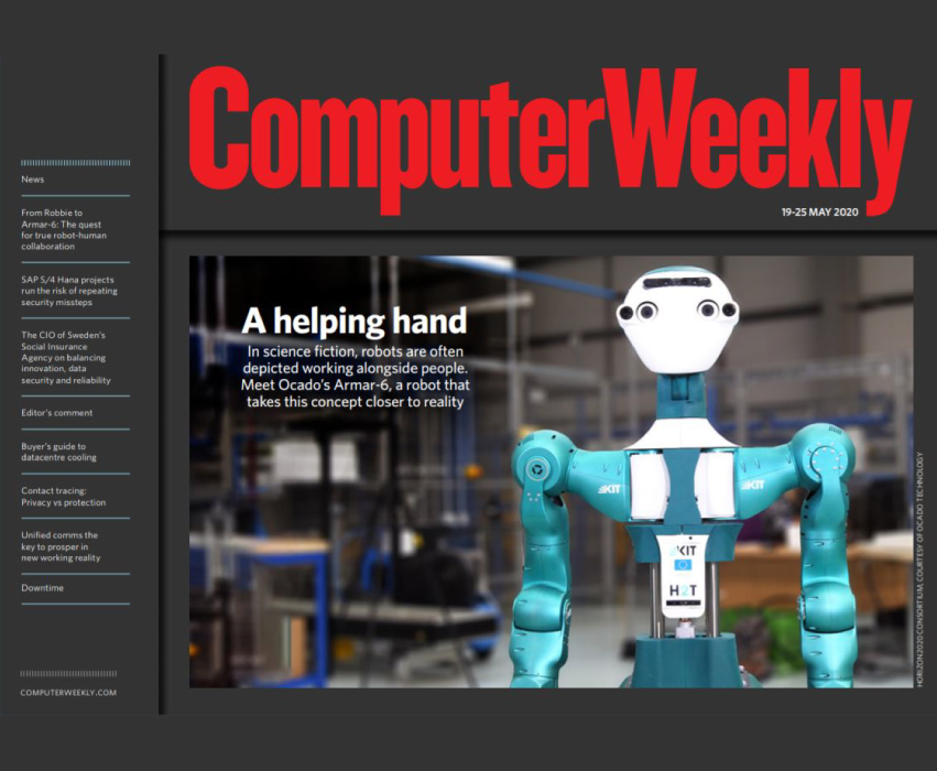 Computer Weekly - a helping hand